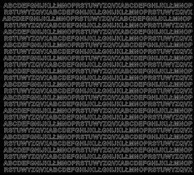 Litery samoprzylepne 5 milimetrów czarny matowy